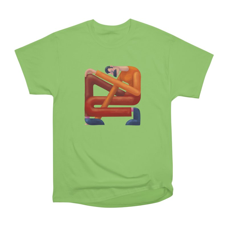 Boxed in Men's Heavyweight T-Shirt by onedrop's Artist Shop