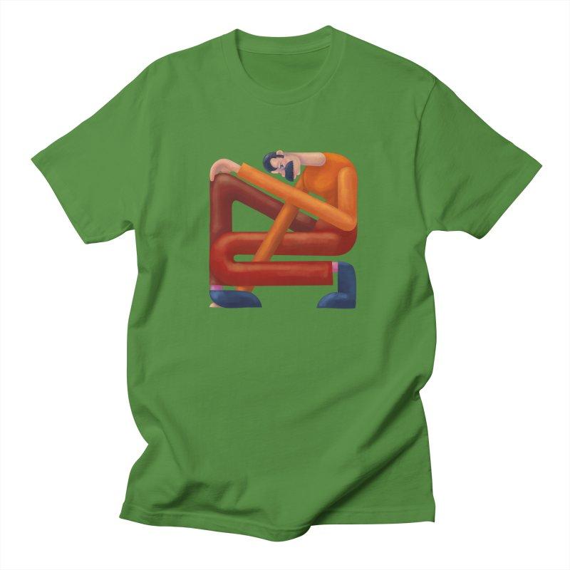 Boxed in Men's Regular T-Shirt by onedrop's Artist Shop