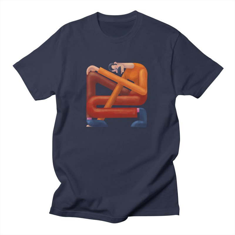 Boxed in Women's Regular Unisex T-Shirt by onedrop's Artist Shop