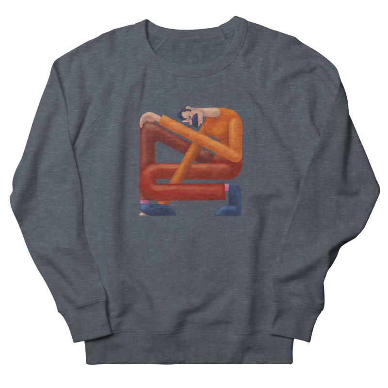 Boxed in Women's French Terry Sweatshirt by onedrop's Artist Shop