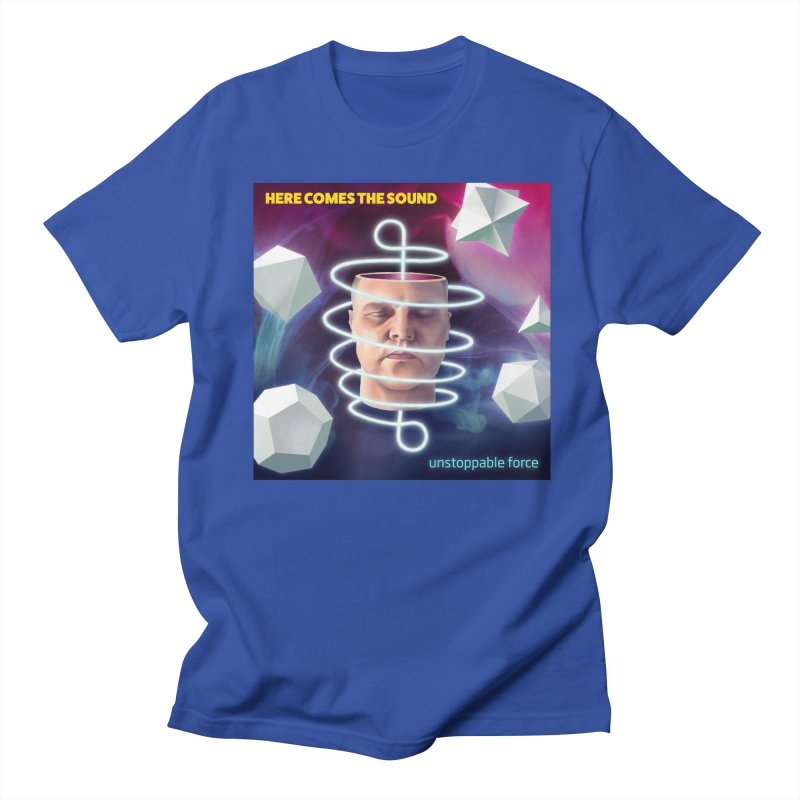 Here comes the sound Men's T-Shirt by onedrop's Artist Shop