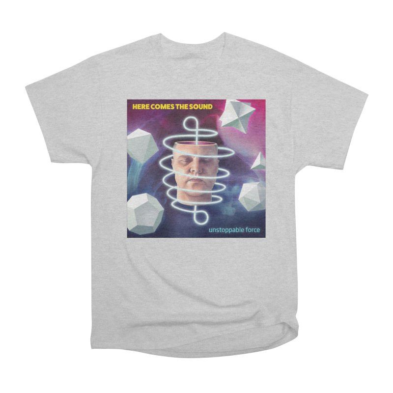Here comes the sound Men's Heavyweight T-Shirt by onedrop's Artist Shop