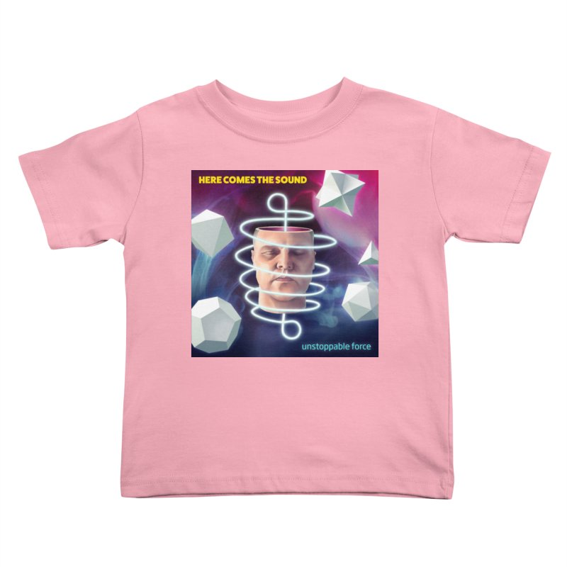 Here comes the sound Kids Toddler T-Shirt by onedrop's Artist Shop