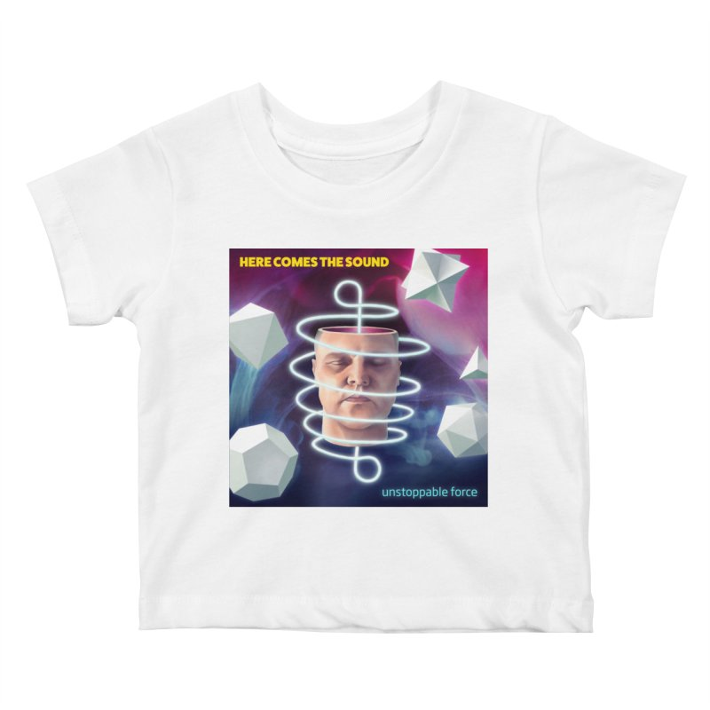 Here comes the sound Kids Baby T-Shirt by onedrop's Artist Shop