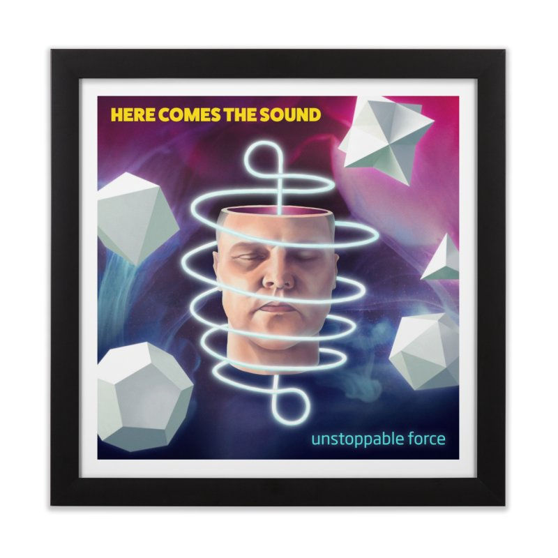 Here comes the sound Home Framed Fine Art Print by onedrop's Artist Shop