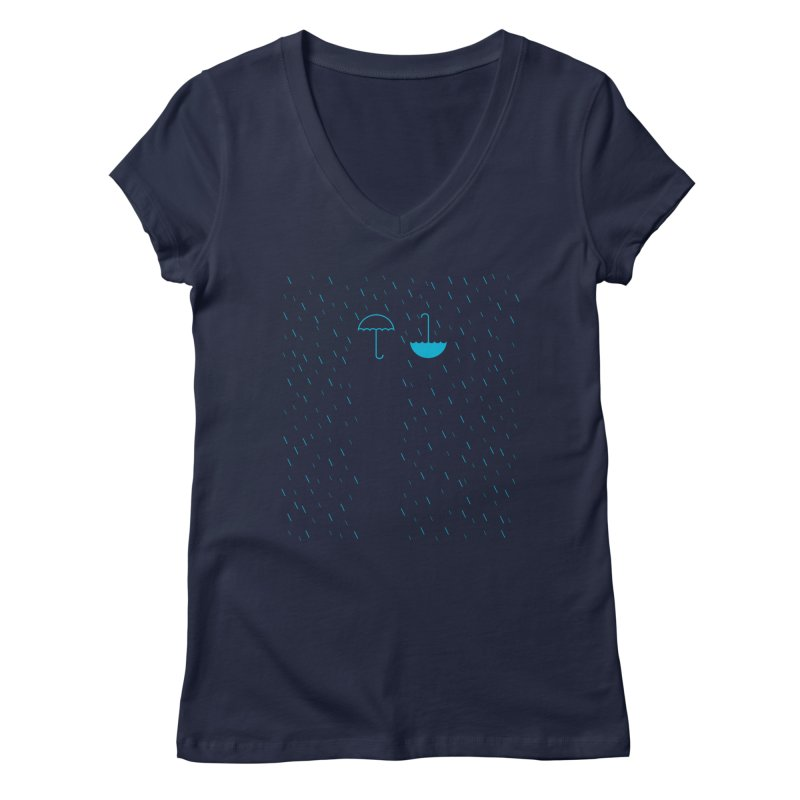 Look Up Women's V-Neck by ONEELL