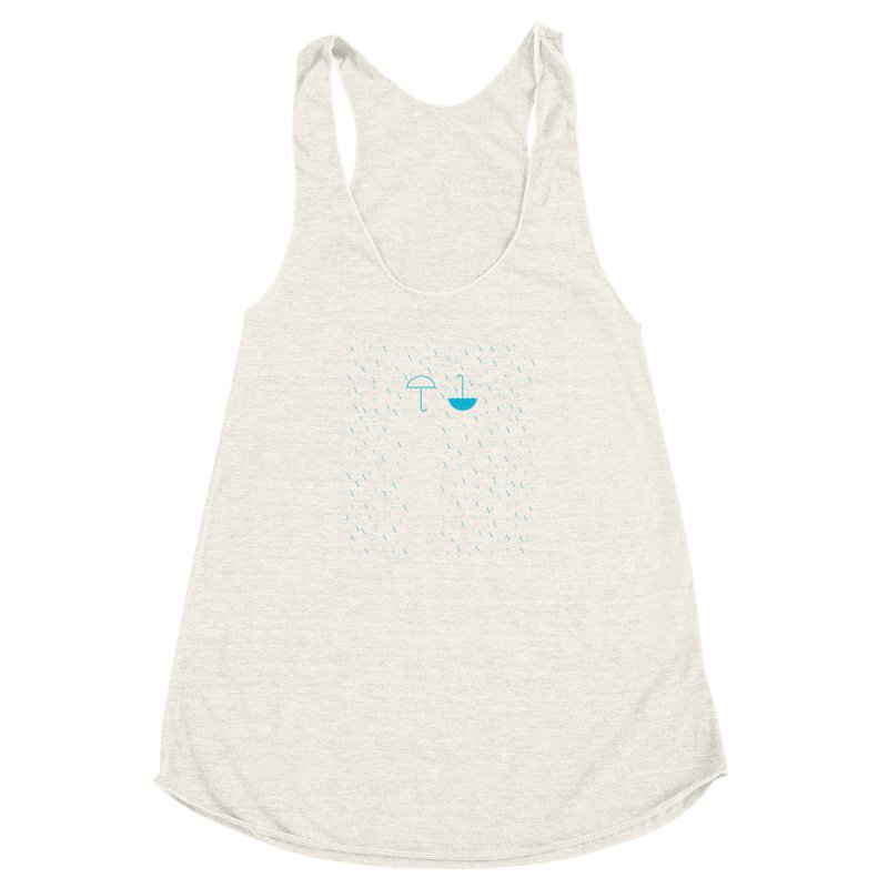 Look Up Women's Racerback Triblend Tank by ONEELL