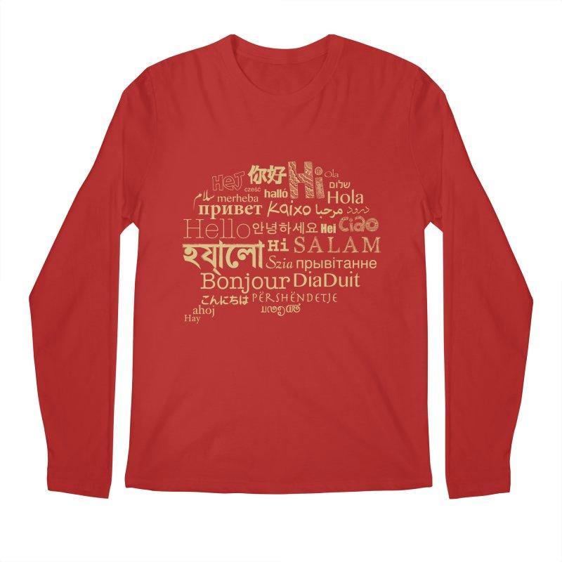 Hi Salam Men's Longsleeve T-Shirt by ONEELL