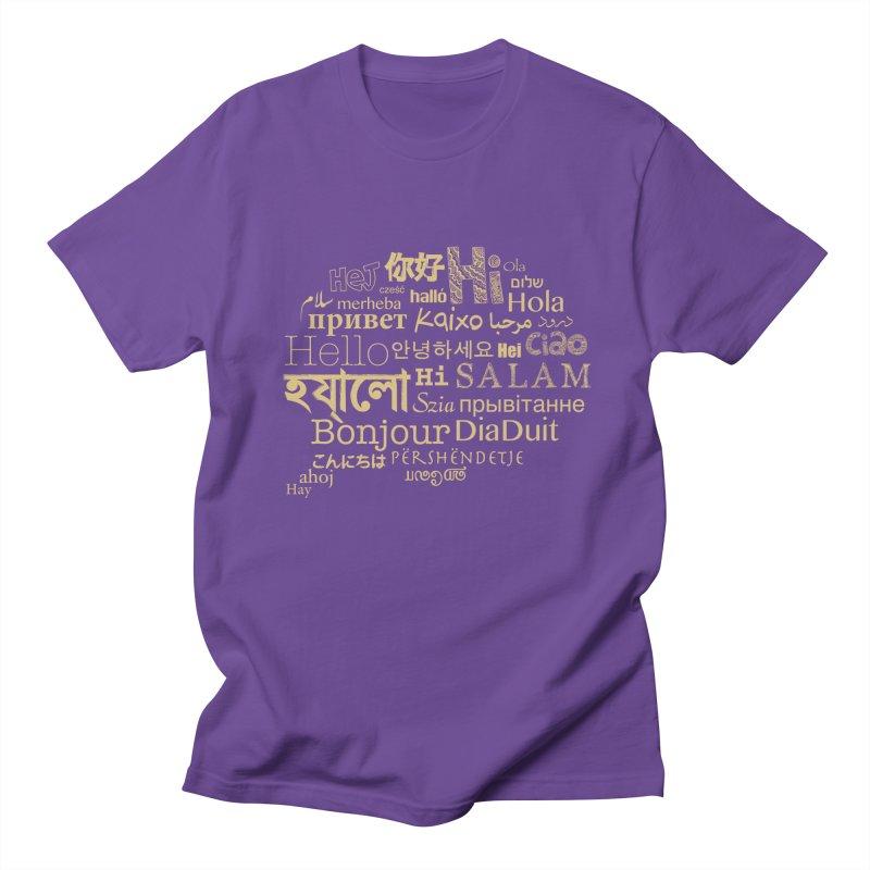 Hi Salam Men's Regular T-Shirt by ONEELL