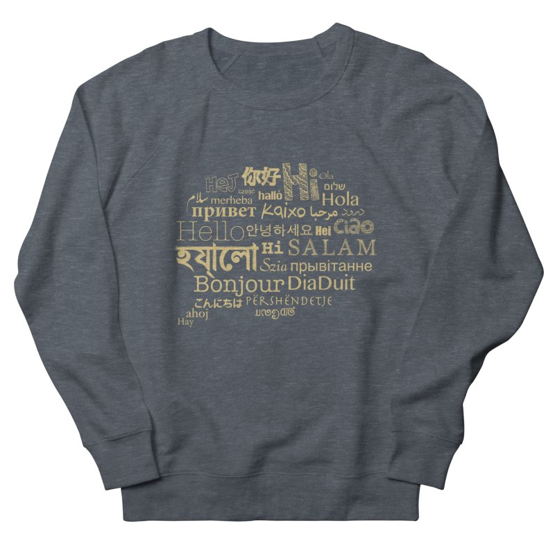 Hi Salam Men's French Terry Sweatshirt by ONEELL