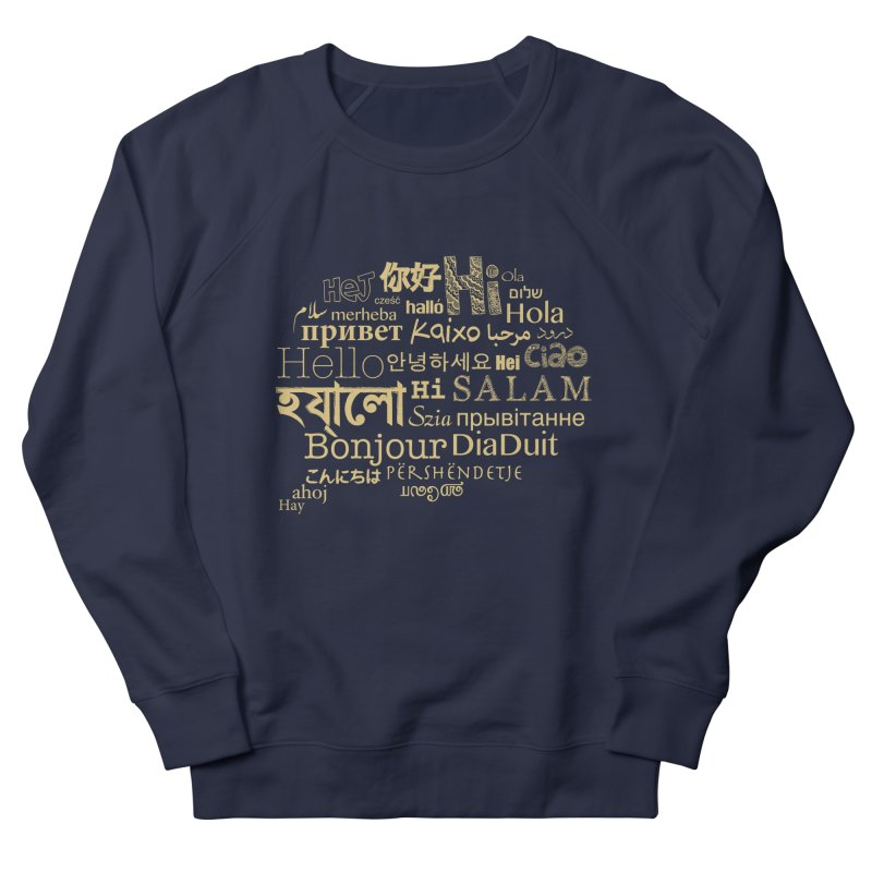 Hi Salam Men's Sweatshirt by ONEELL