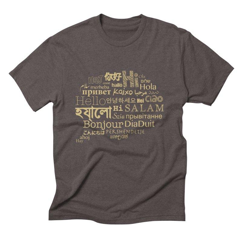 Hi Salam Men's Triblend T-Shirt by ONEELL
