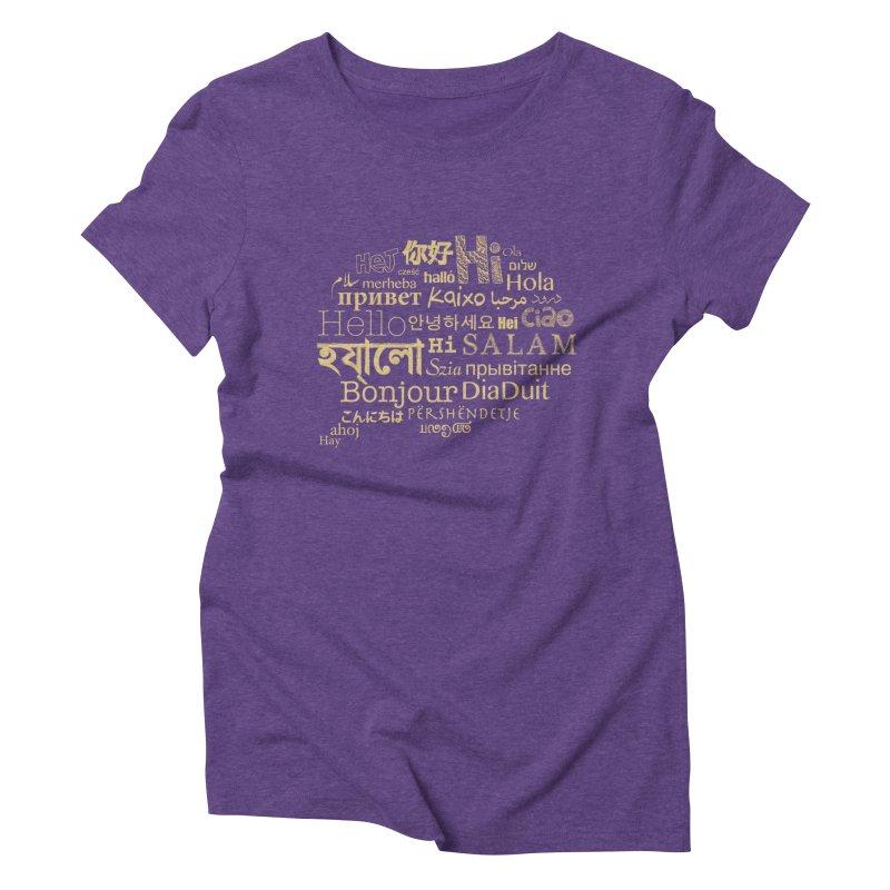 Hi Salam Women's Triblend T-Shirt by ONEELL