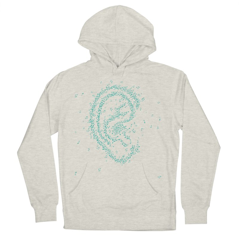 Hear it Men's French Terry Pullover Hoody by ONEELL