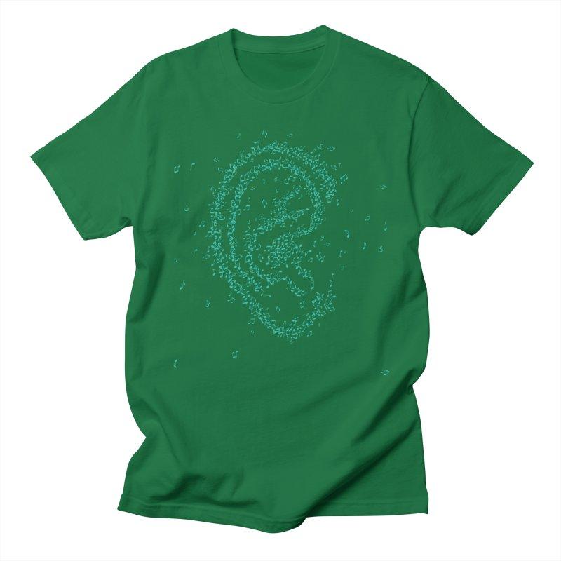 Hear it Men's Regular T-Shirt by ONEELL