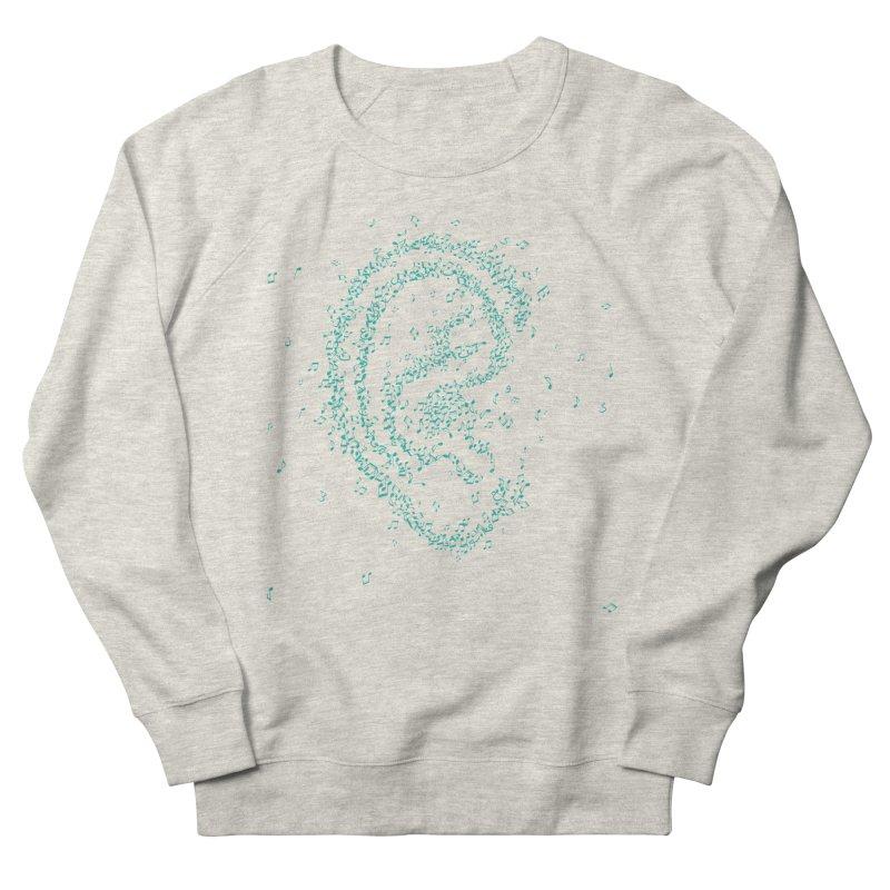 Hear it Men's French Terry Sweatshirt by ONEELL