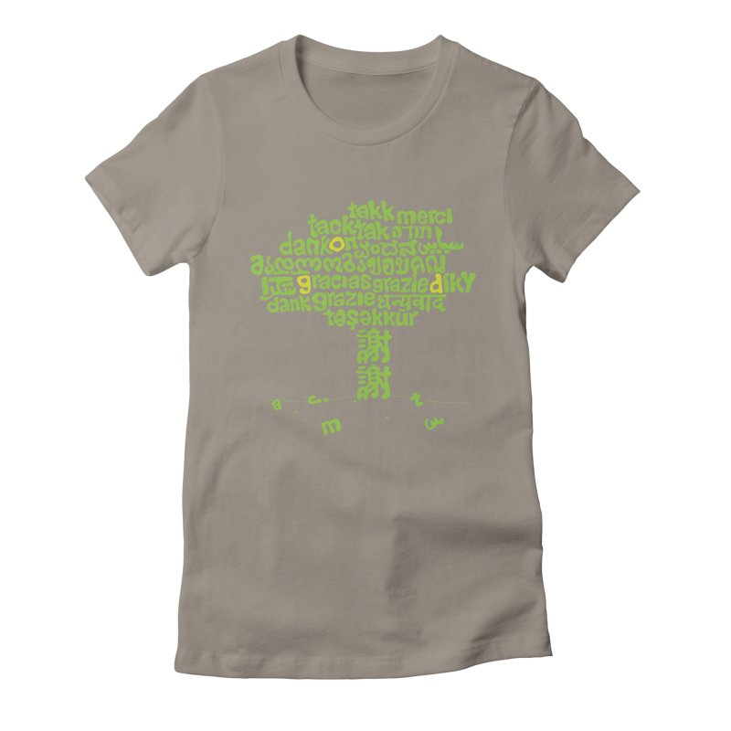 Thanks Women's Fitted T-Shirt by ONEELL