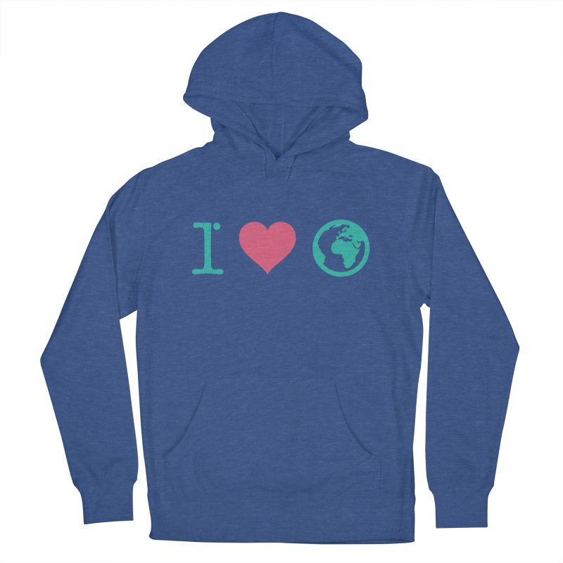 I Love Earth Men's Pullover Hoody by ONEELL