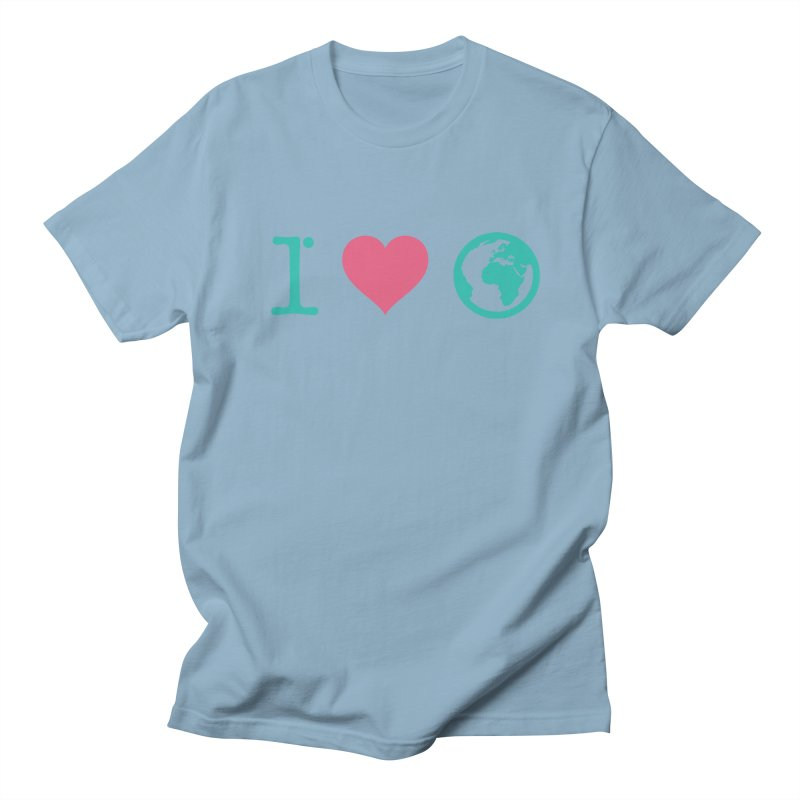 I Love Earth Men's T-Shirt by ONEELL