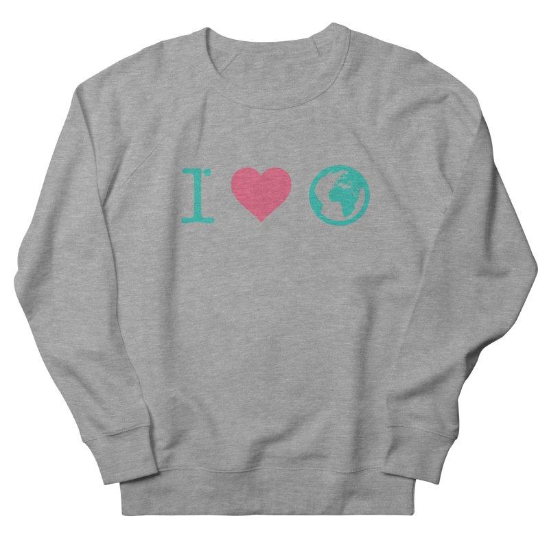 I Love Earth Women's Sweatshirt by ONEELL
