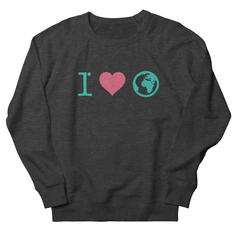I Love Earth Men's Sweatshirt by ONEELL