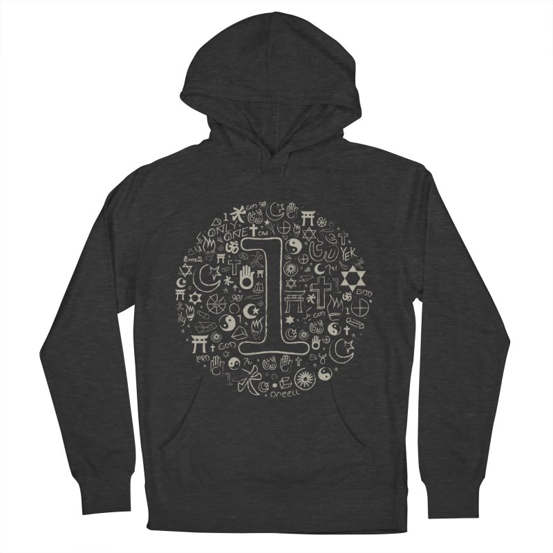 Only One Men's French Terry Pullover Hoody by ONEELL