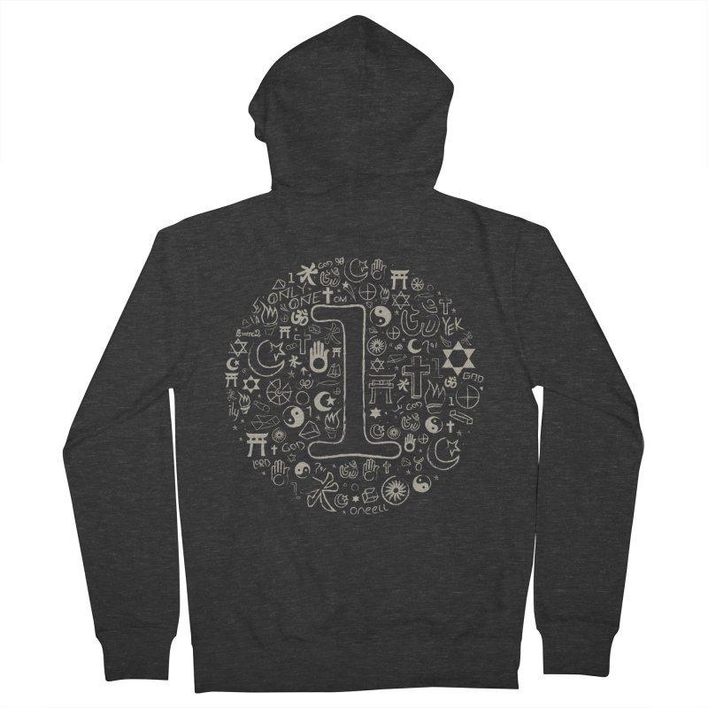 Only One Men's Zip-Up Hoody by ONEELL
