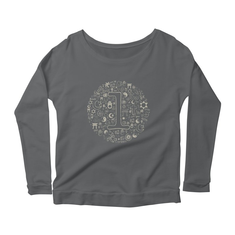 Only One Women's Longsleeve Scoopneck  by ONEELL