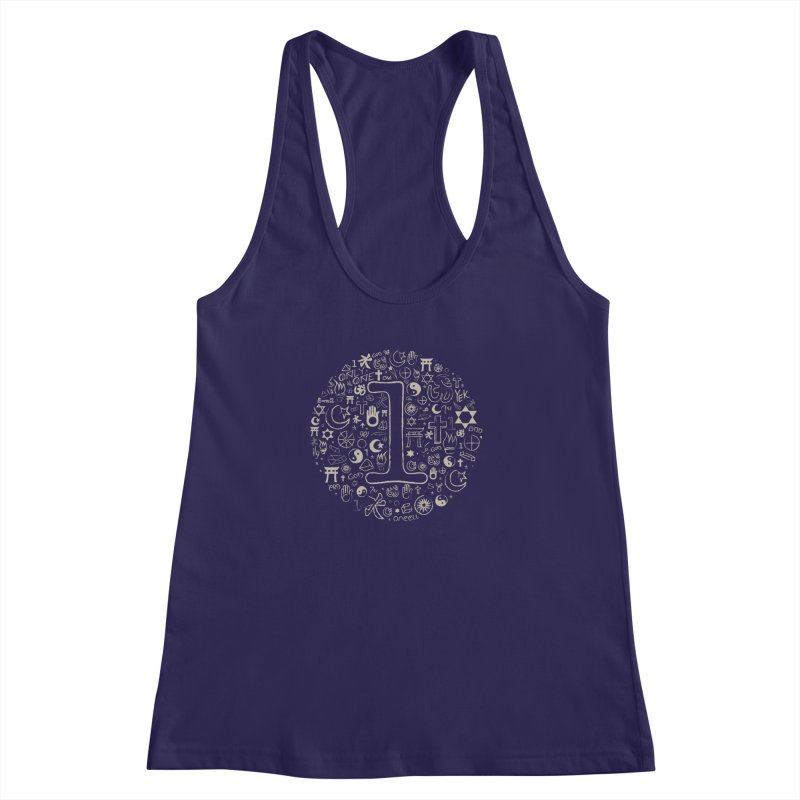 Only One Women's Racerback Tank by ONEELL