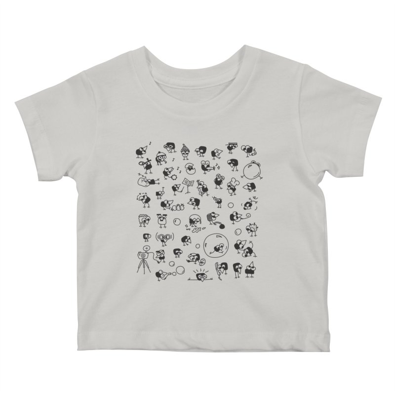 Chicky Kids Baby T-Shirt by ONEELL