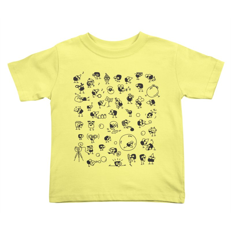 Chicky in Kids Toddler T-Shirt Lemon by ONEELL