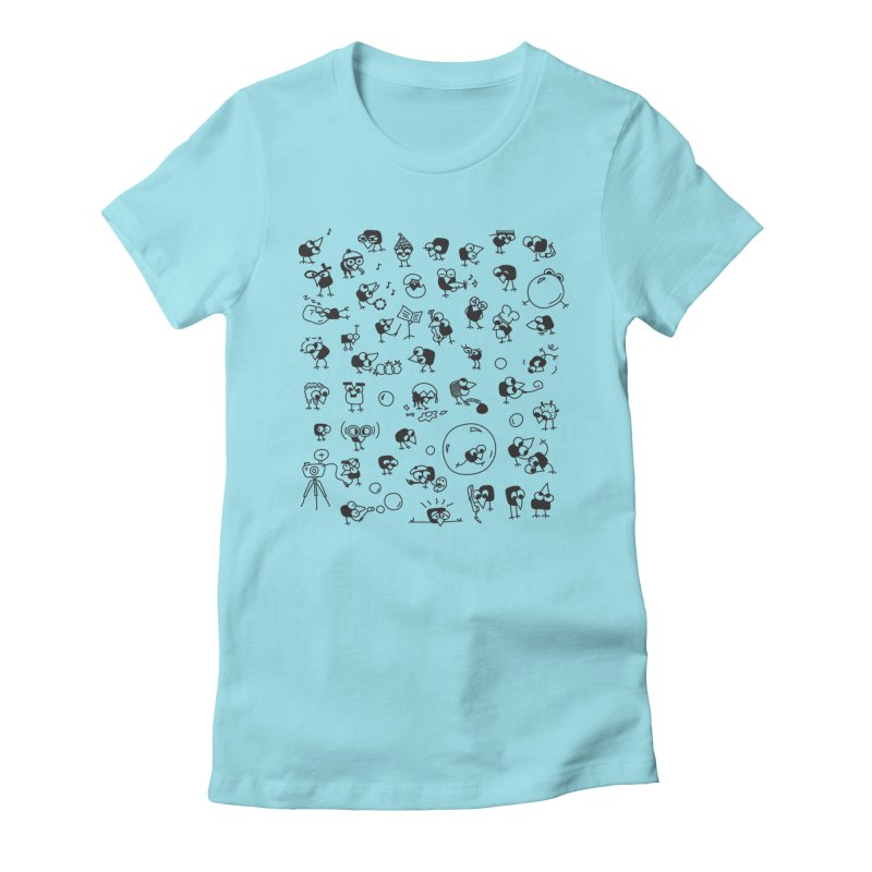 Chicky Women's Fitted T-Shirt by ONEELL