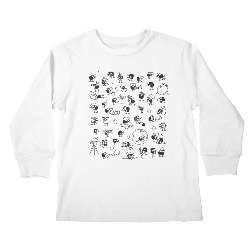 Chicky Kids Longsleeve T-Shirt by ONEELL