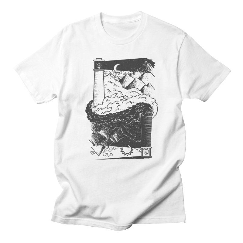 The Nighthouse Men's T-shirt by One Legged Kiwi's Artist Shop