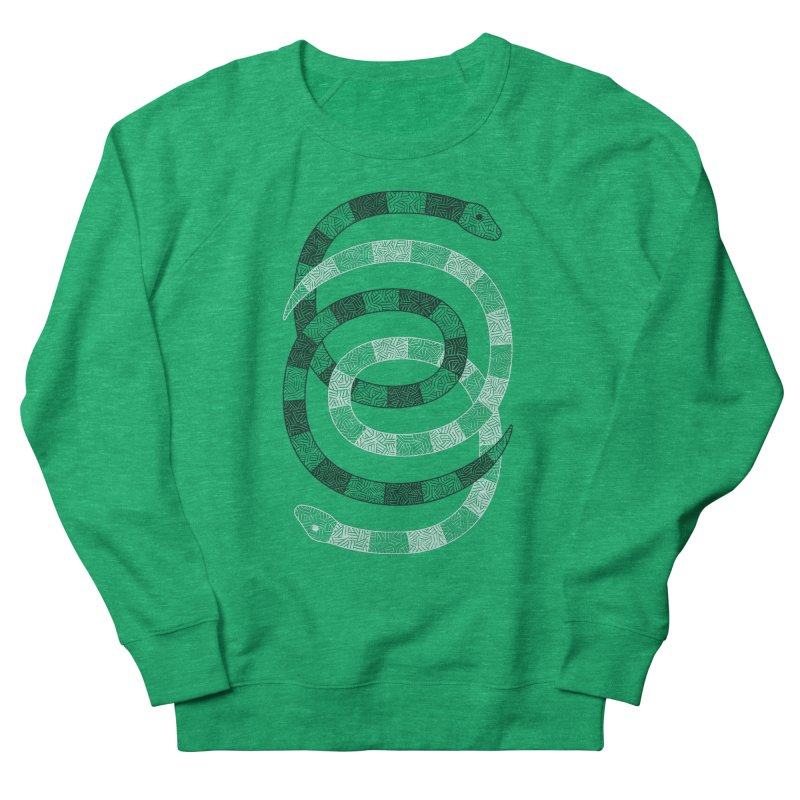 Snakes Men's Sweatshirt by One Legged Kiwi's Artist Shop