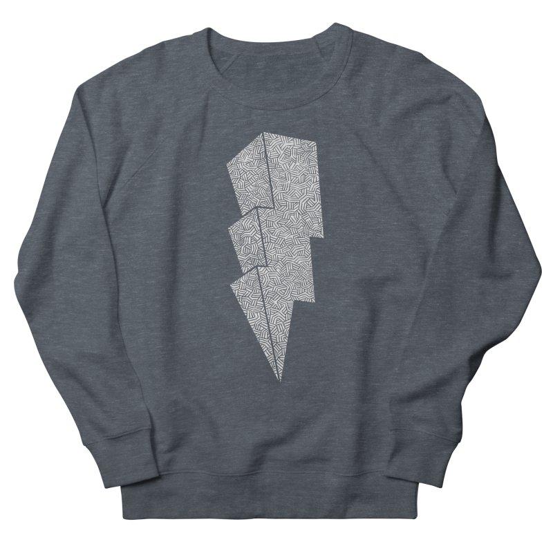 Bolt Men's Sweatshirt by One Legged Kiwi's Artist Shop