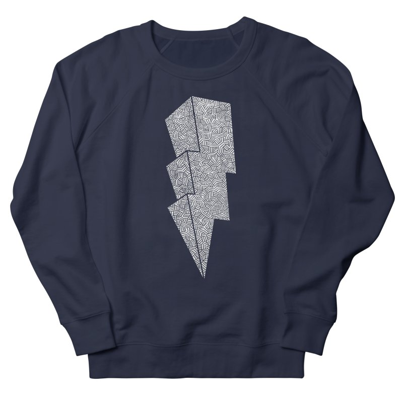 Bolt Men's Sweatshirt by One Legged Kiwi's Artist Shop