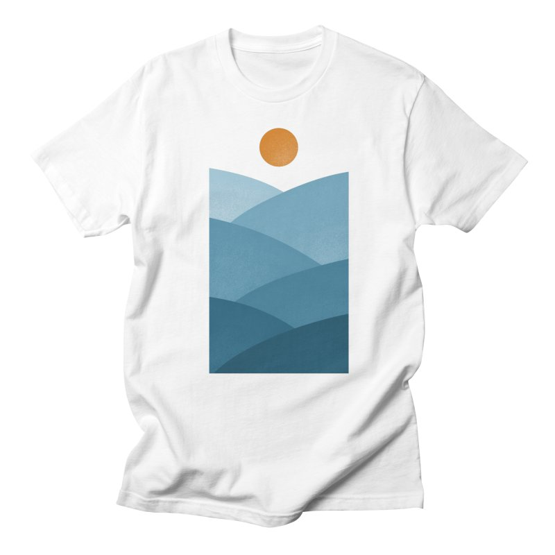 Waves Men's T-shirt by One Legged Kiwi's Artist Shop