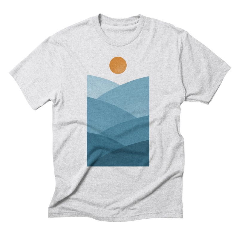 Waves Men's Triblend T-Shirt by One Legged Kiwi's Artist Shop