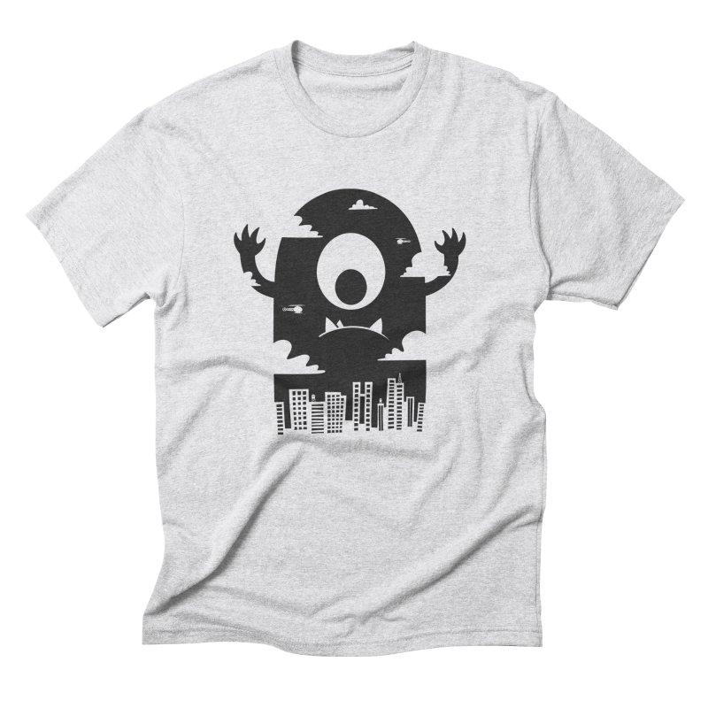 Mister Chomps Men's Triblend T-Shirt by One Legged Kiwi's Artist Shop