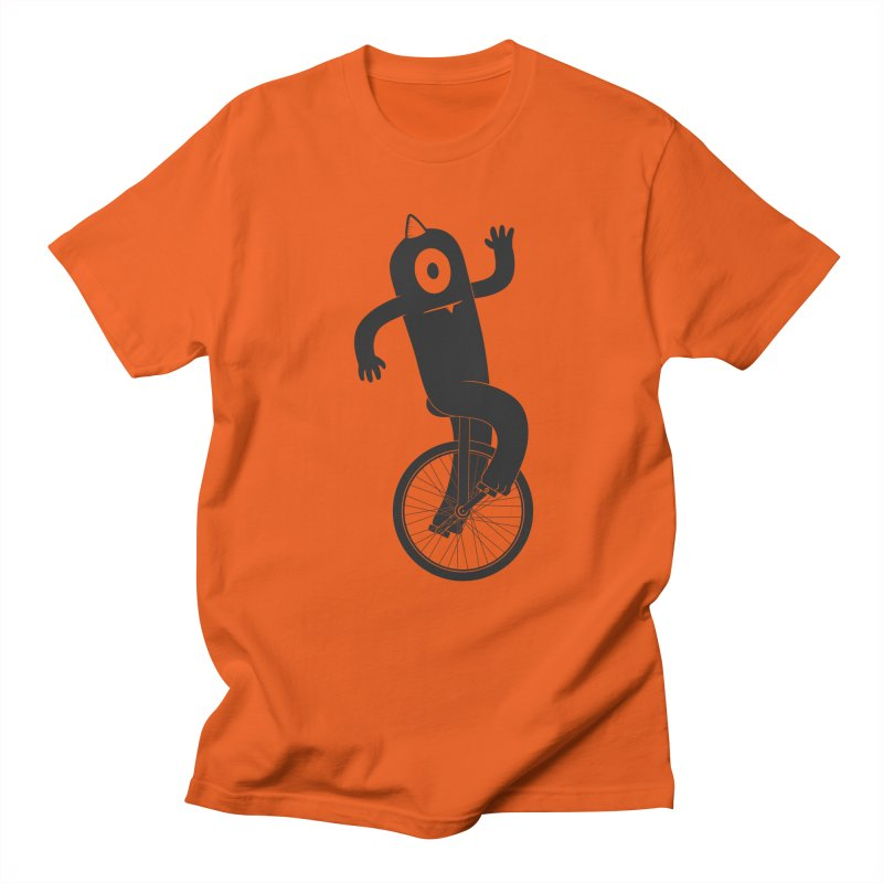 Unicyclops Men's T-shirt by One Legged Kiwi's Artist Shop