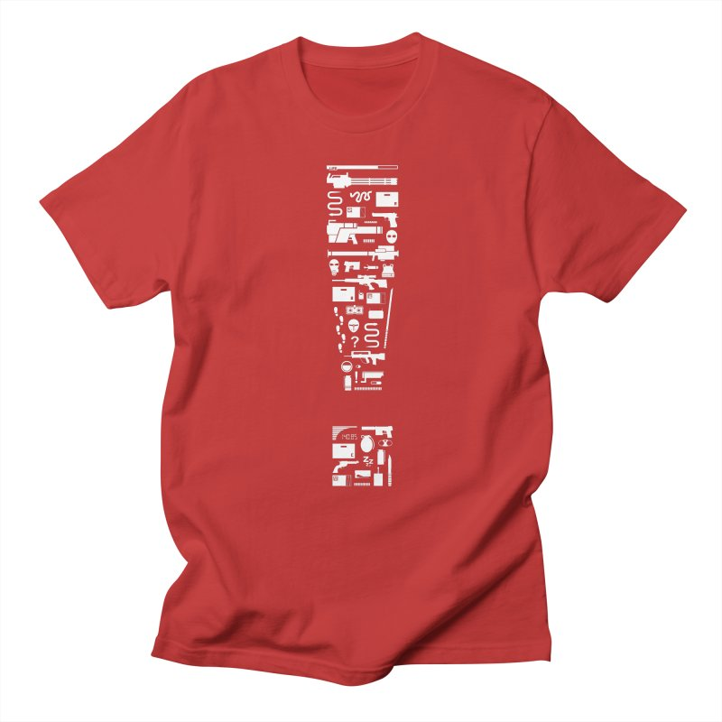 Tac-tee-cal Espionage Action Men's T-Shirt by One Legged Kiwi's Artist Shop