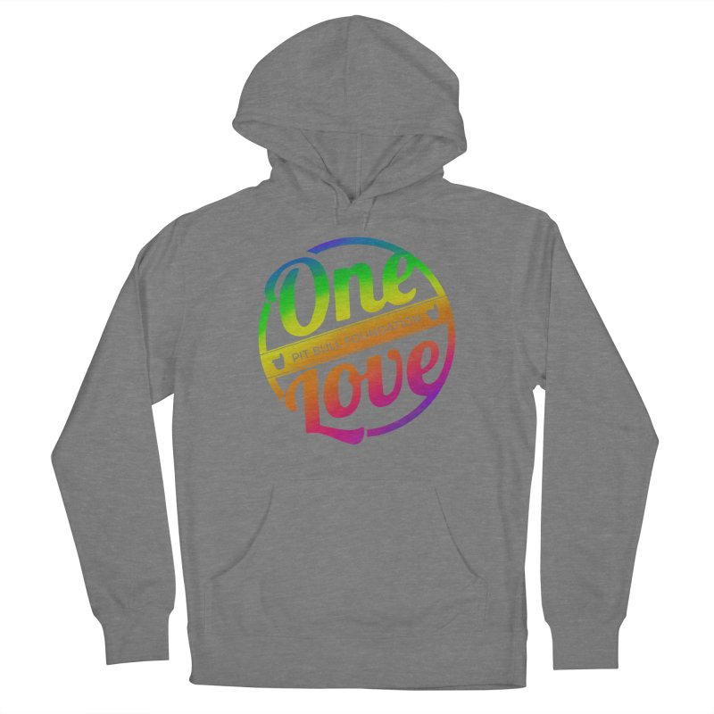 One Love Rainbow Women's Pullover Hoody by One Love Pit Bull Foundation