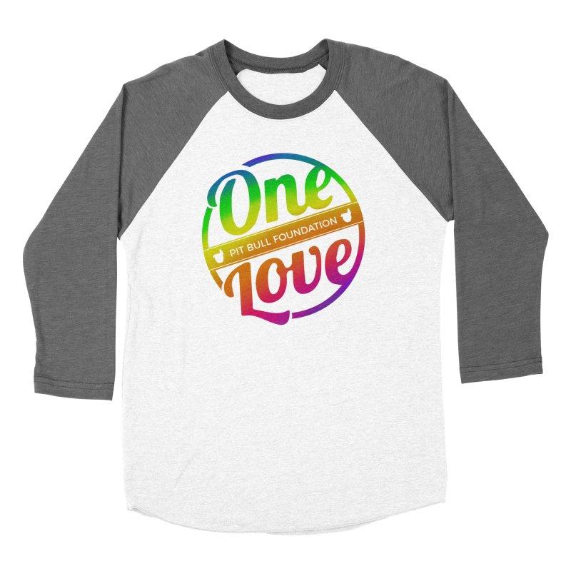One Love Rainbow Women's Longsleeve T-Shirt by One Love Pit Bull Foundation