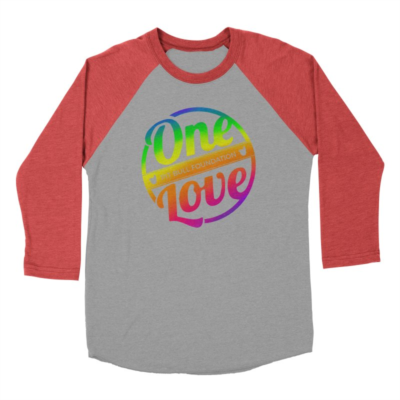One Love Rainbow Men's Longsleeve T-Shirt by One Love Pit Bull Foundation