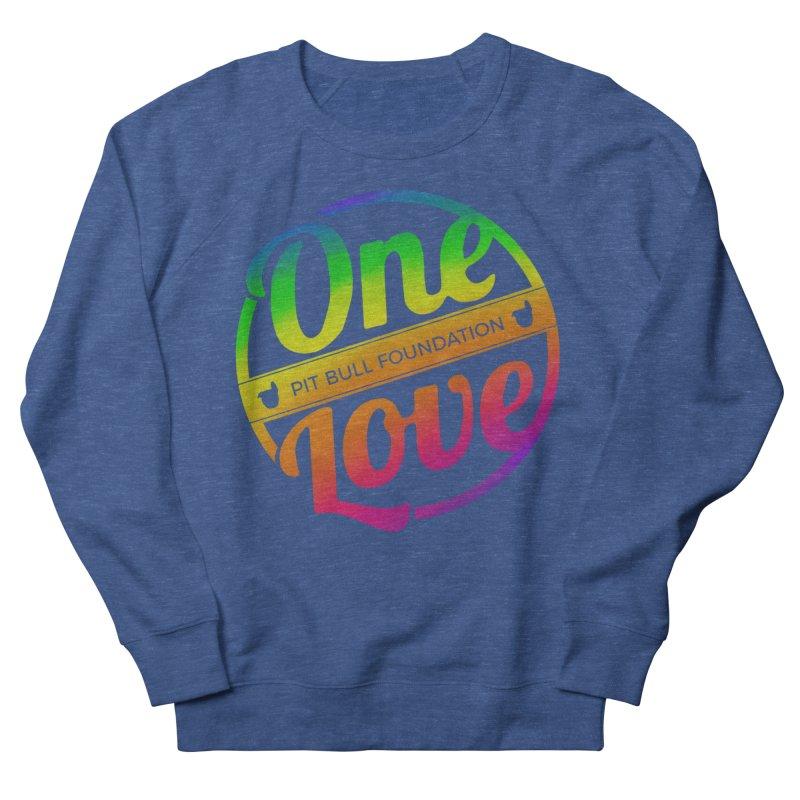 One Love Rainbow Men's Sweatshirt by One Love Pit Bull Foundation