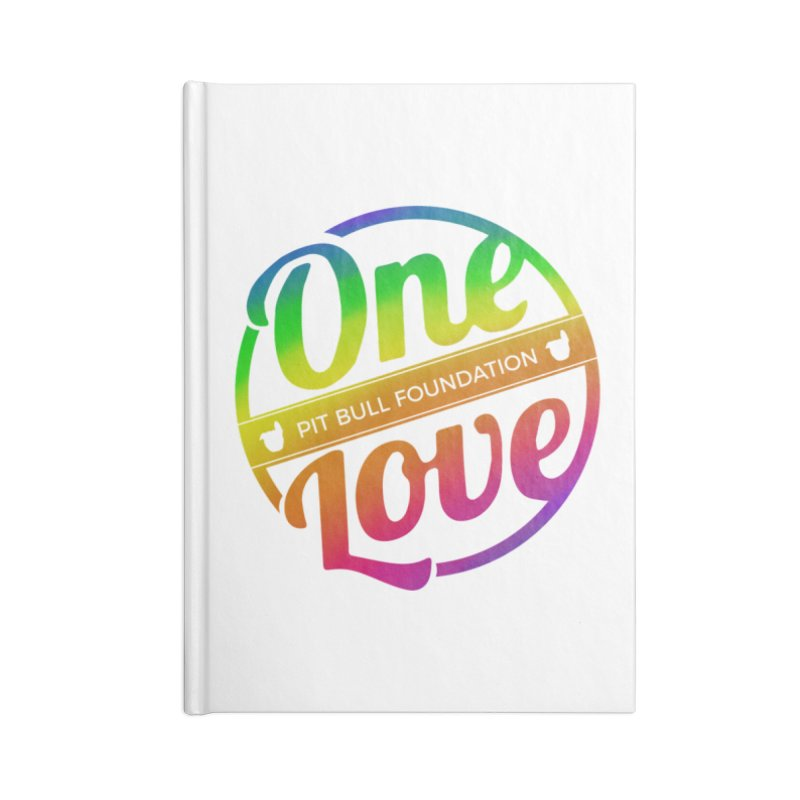 One Love Rainbow Accessories Notebook by One Love Pit Bull Foundation