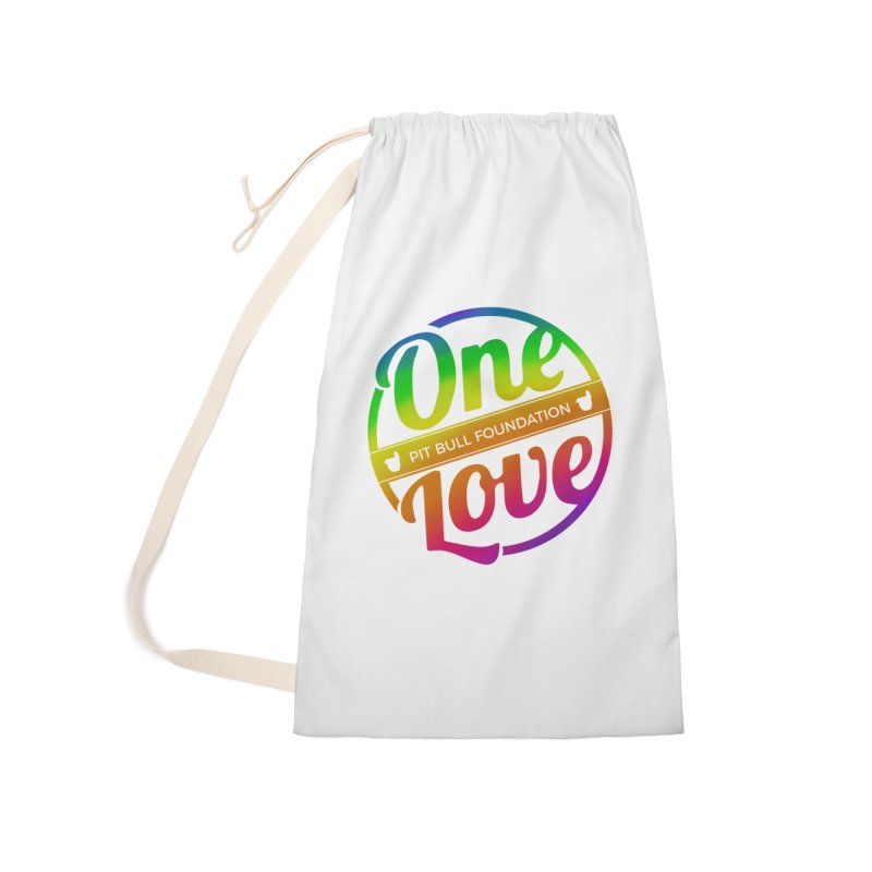 One Love Rainbow Accessories Bag by One Love Pit Bull Foundation