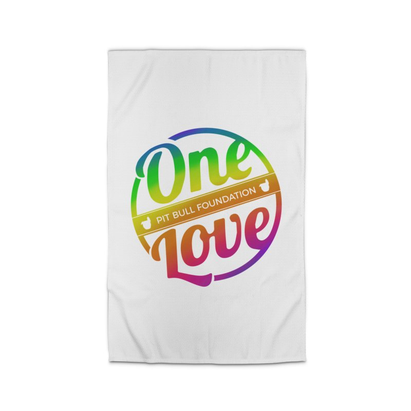One Love Rainbow Home Rug by One Love Pit Bull Foundation