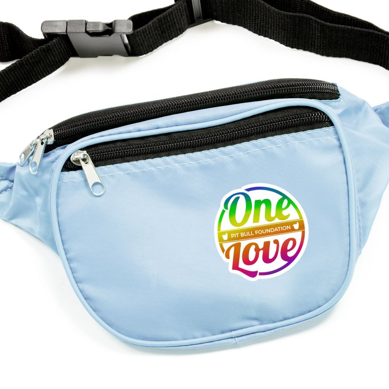 One Love Rainbow Accessories Sticker by One Love Pit Bull Foundation